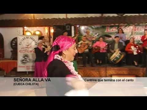 SEÑORA ALLA VA CUECA CHILOTA Agrupación Folclórica Pahueldún.