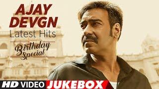 Latest Songs Of Ajay Devgn || Video Jukebox || Bollywood Hindi Songs || Birthday Special ||T-Series