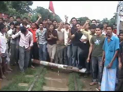 Hartal at Comilla Victoria College Student 28.06.2010
