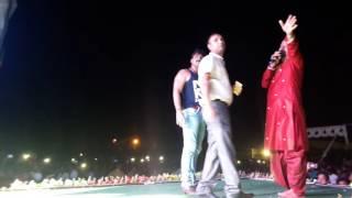 Pawan singh&akshara singh&monalisa recording dance chalakata humko jawaniya ae raja in japla