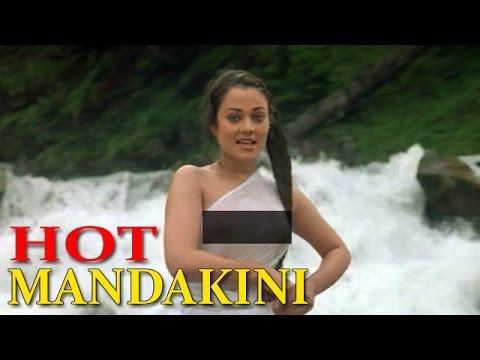 Mandakini's Waterfall Scene In Ram Teri Ganga Maili