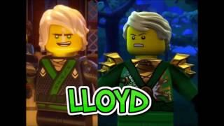 Lego Ninjago Movie Characters VS Ninjago TV Show Characters Comparison