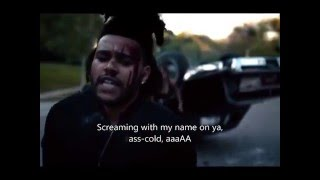 The Weeknd - The Hills (Backwards + Subtitles)