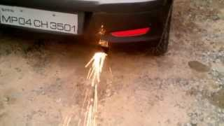 hyundai i10 exhaust flame thrower INDIA