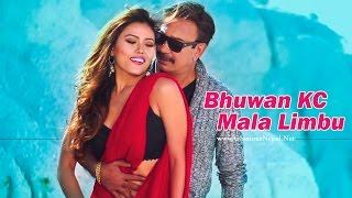 Mala Limbu Bhuwan KC Music Video Romance | Glamour Nepal