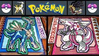 "Arceus, Dialga, Palkia & Giratina ""Pokemon of the Month"" (IN 52,880 DOMINOES!)"