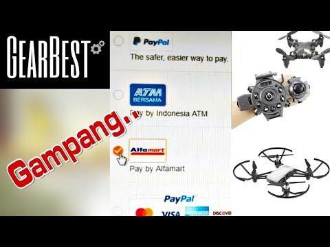 Cara Gampang Belanja di Gearbest bayar di Alfamart