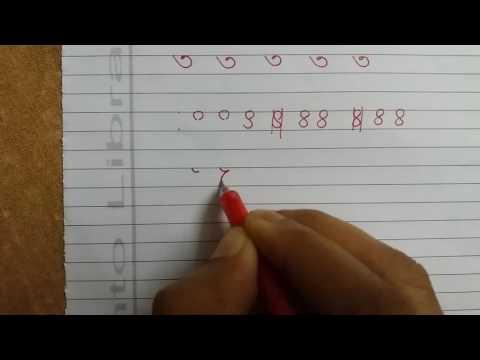 Bangla হাতের লেখা সুন্দর ও দ্রুত করুন--part--15 (১ থেকে ৯) / Advanced Handwriting school sanka