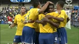 اهداف مصر والبرازيل تعليق الشوالي hd