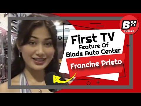 Xxx Mp4 Francine Prieto Introduces Blade At Auto Extreme 3gp Sex