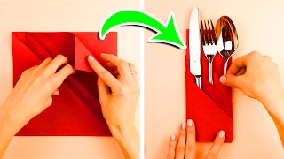 7 Napkin Folding Techniques That Will Blow Your Guests Away