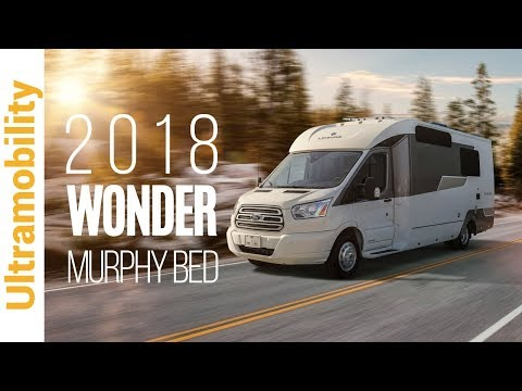 2018 Leisure Travel Vans Wonder Murphy Bed Class B Campervan on Ford Transit