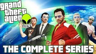 GTA 5: Grand Theft Alien: THE MOVIE | The Complete GTA 5 CINEMATIC Series (GTA 5 Movie)