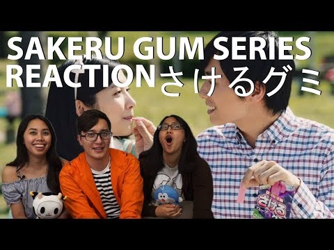 Sakeru Gum Series さけるグミ 1 11 Commercial Reaction