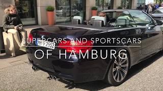 Supercars and Sportscars of Hamburg! Spring 2017|Ferrari, AMG, BMW Burnout…