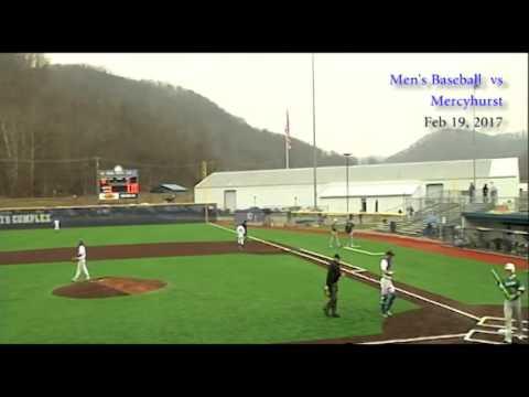Glenville State Pioneer Baseball vs Mercyhurst, Feb 19, 2017