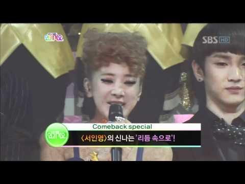 Inkigayo 600th Special Happy birthday Song @ SBS Inkigayo 인기가요 101212