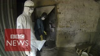 Ebola Virus: Film reveals scenes of horror in Liberia - BBC News