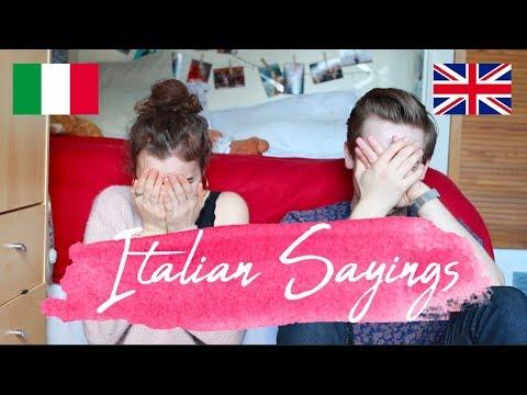 Xxx Mp4 Italian Sayings With Gerard ITALIAN Vs ENGLISH Doyouknowellie 3gp Sex