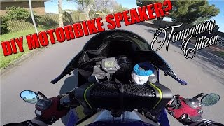 The BEST way to listen to MUSIC on a MOTORBIKE?