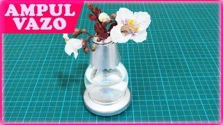 Vazo Yapımı (Ampul) Make a Cute Light Bulb Vase - колба ваза