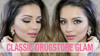 Drugstore Tutorial | Neutral Classic Glam | Kaushal Beauty