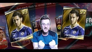 FIFA Mobile 99 Master Player Pack Opening! 16 Master Player Packs, With a Chance at a 99 Master!