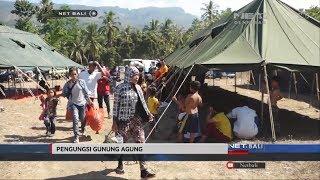 NET. BALI - PENGUNGSI MULAI JATUH SAKIT AKIBAT CUACA PANAS DAN DEBU