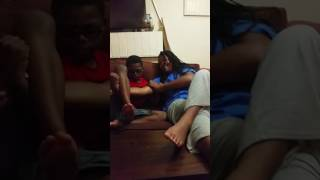 BROTHER AND SISTER  FIGHT ING