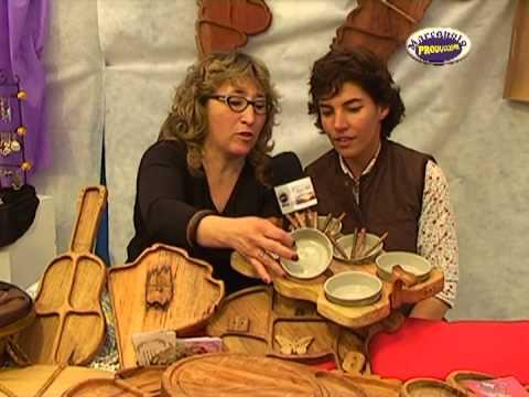 Expo Olavarria 2012 Norma Gladys Fariña Artesanías en Madera