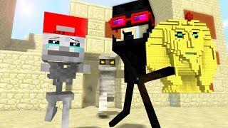 Mob Kids Life 5 - Craftronix Minecraft Animation