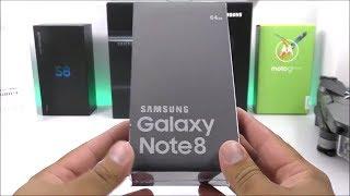 فتح صندوق هاتف جالكسى نوت 8 النسخة المقلدة Galaxy Note 8 Clone !!