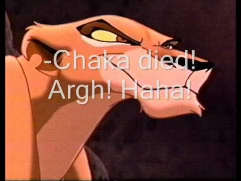 Lion King - Kiara, Chaka, Shani. My story.