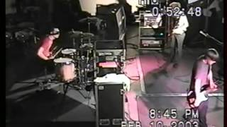 Side Walk Slam Live @ The Aquarium 2003
