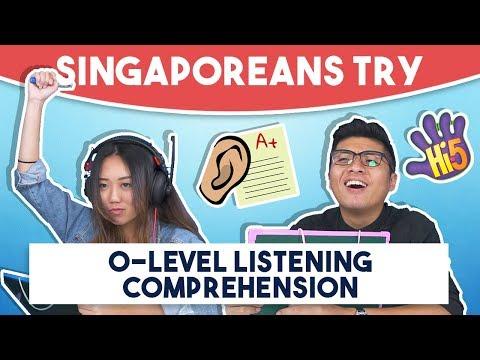 Singaporeans Try: O-Level Listening Comprehension