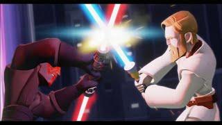 Disney Infinity 3.0 - The Movie (Twilight of the Republic Playset) - All Cutscenes & Bosses