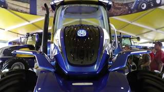 New Holland unveils 'methane-powered' concept tractor