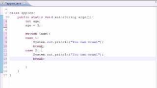 Java Programming Tutorial - 12 - Switch Statement