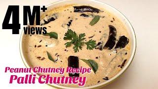 Palli Chutney   Peanut Chutney Recipe   How to make Chutney   Hyderabadi Ruchulu