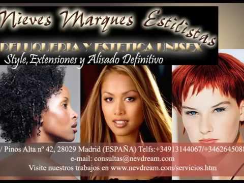 Hair Relaxing Process. Alisado de Cabello NEVDREAM.Part1 Parte1
