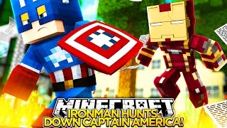 Minecraft Adventure - IRONMAN IS BETRAYED BY CAPTAIN AMERICA
