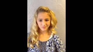Chloe Lukasiak Auditions for
