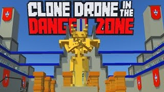Endless Mode Champion - All Upgrades Unlocked! - Clone Drone in the Danger Zone Gameplay