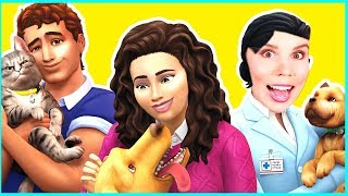 THE SIMS 4 CATS AND DOGS! Create a Pet?!!!   [ Gamescom Reaction ]