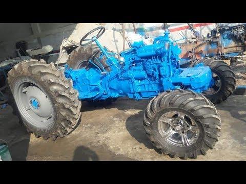 Modified Ford 3600 tractor looks like Luxury Rolls Royce Car । ਵੀਡੀਓ ਦੇਖੋ।