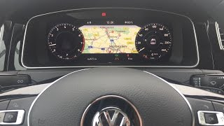 Golf 7 Facelift - Digitaler Tacho / Active Info Display / Golf 7,5 / Golf 8