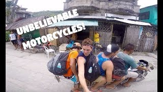 LONGEST MOTORCYCLE IN THE WORLD? (Capul, Samar, Philippines)
