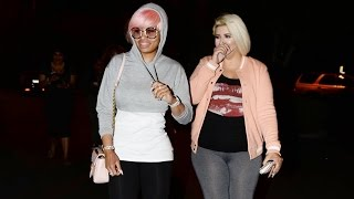 Blac Chyna And The Girls Hit Up The Bowling Alley
