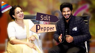 Nithya Menen & Dulquer Salmaan Open Up on Marriage | Salt & Pepper | Interview | 100 Days Of Love