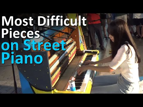 Top 5 Most Technically Difficult Street Piano Performances